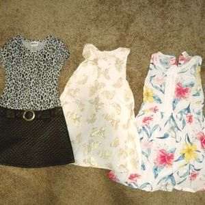 Other - 3 Dresses Sizes 5T-6X TOTAL $13